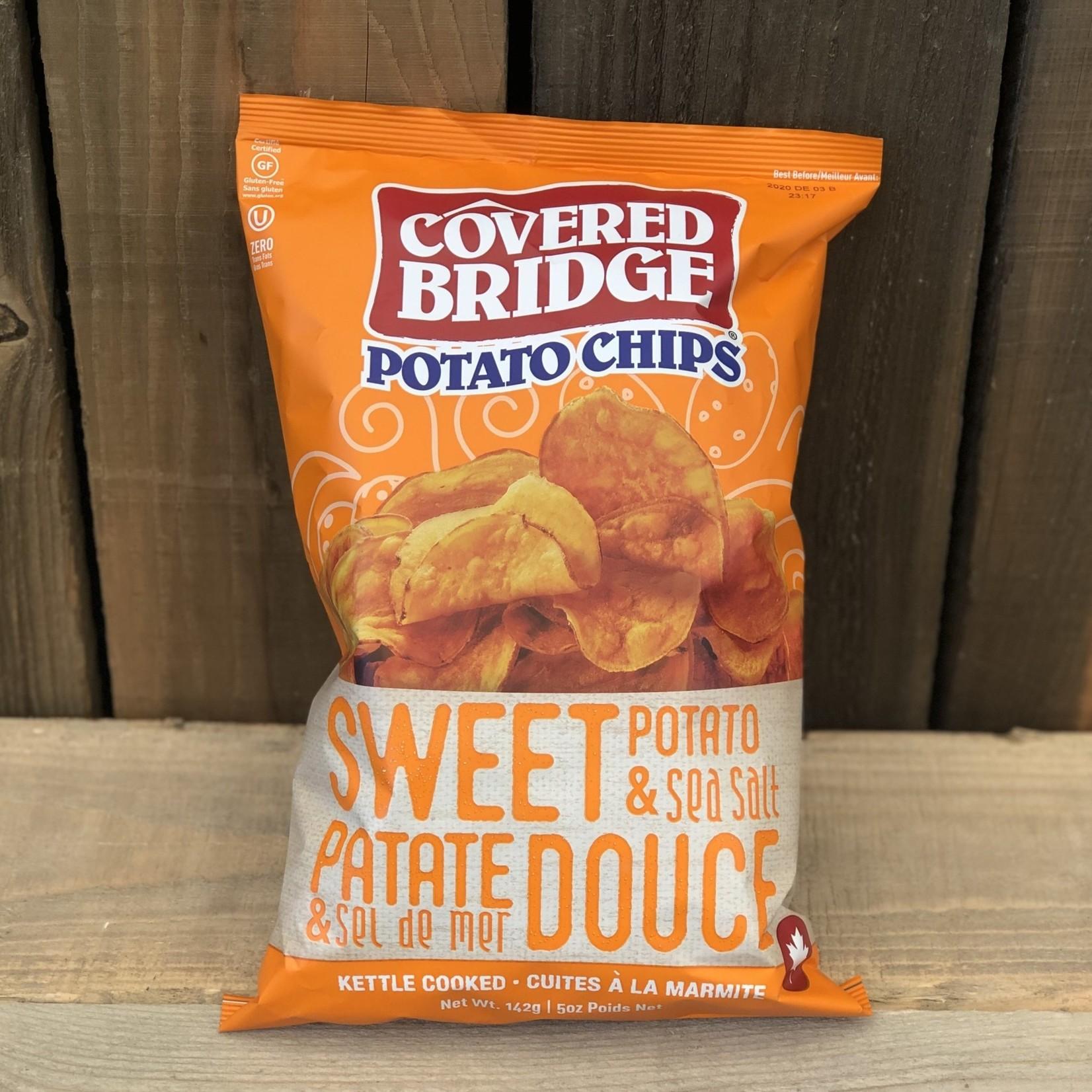 Chips Patate douce et sel de mer