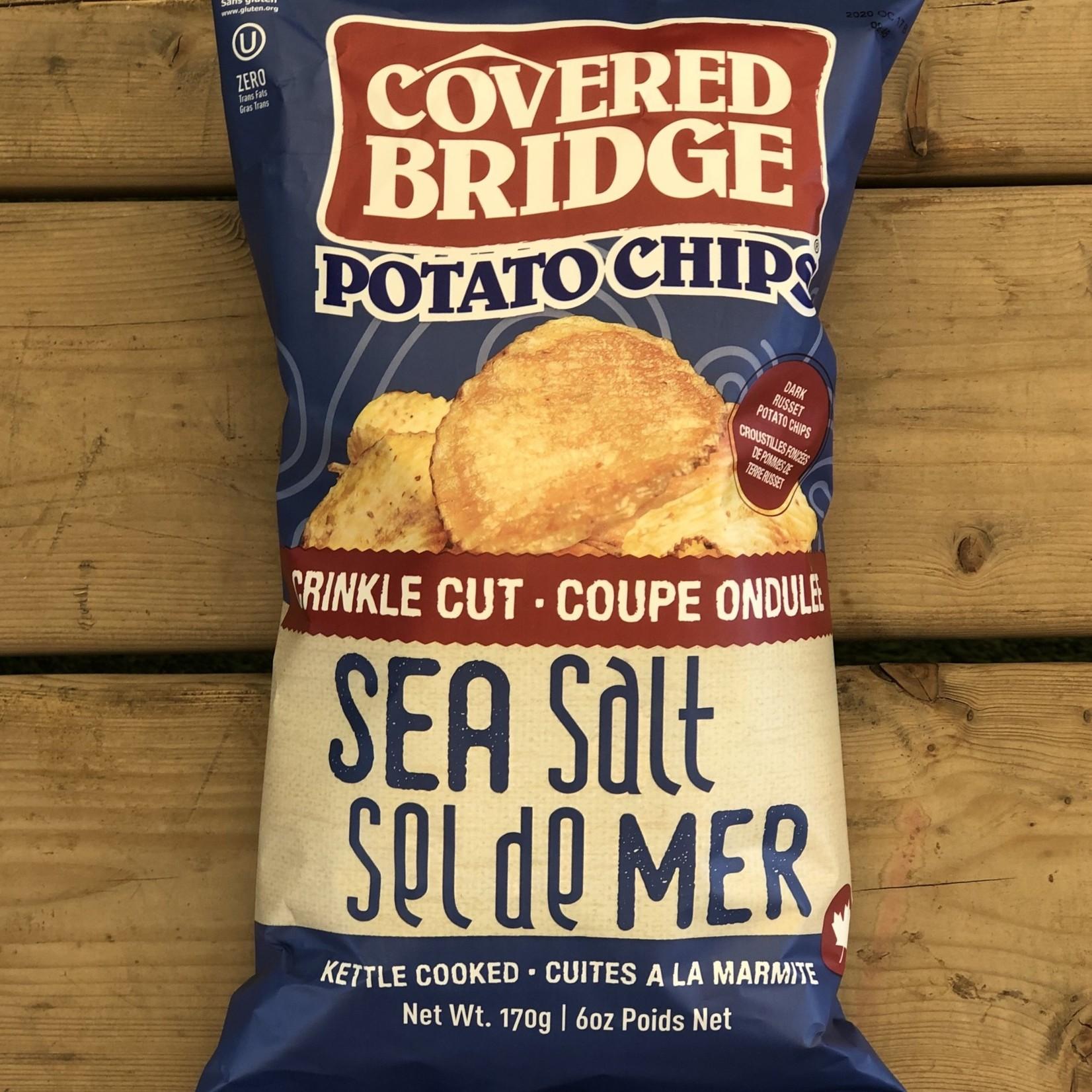 Chips Sel de Mer Coupe Ondulé