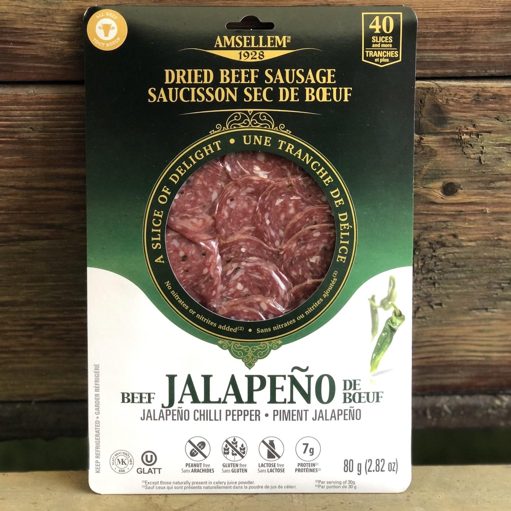 Saucisson de Boeuf - Jalapeño