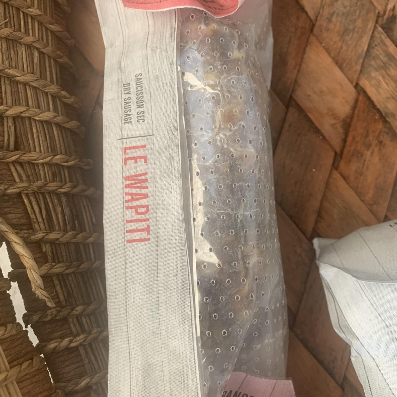 Saucisson artisanal - Le Wapiti