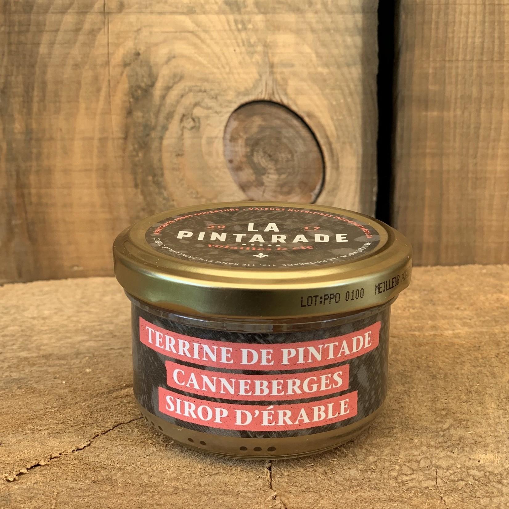 Terrine de Pintade - Canneberges Sirop D'Érable