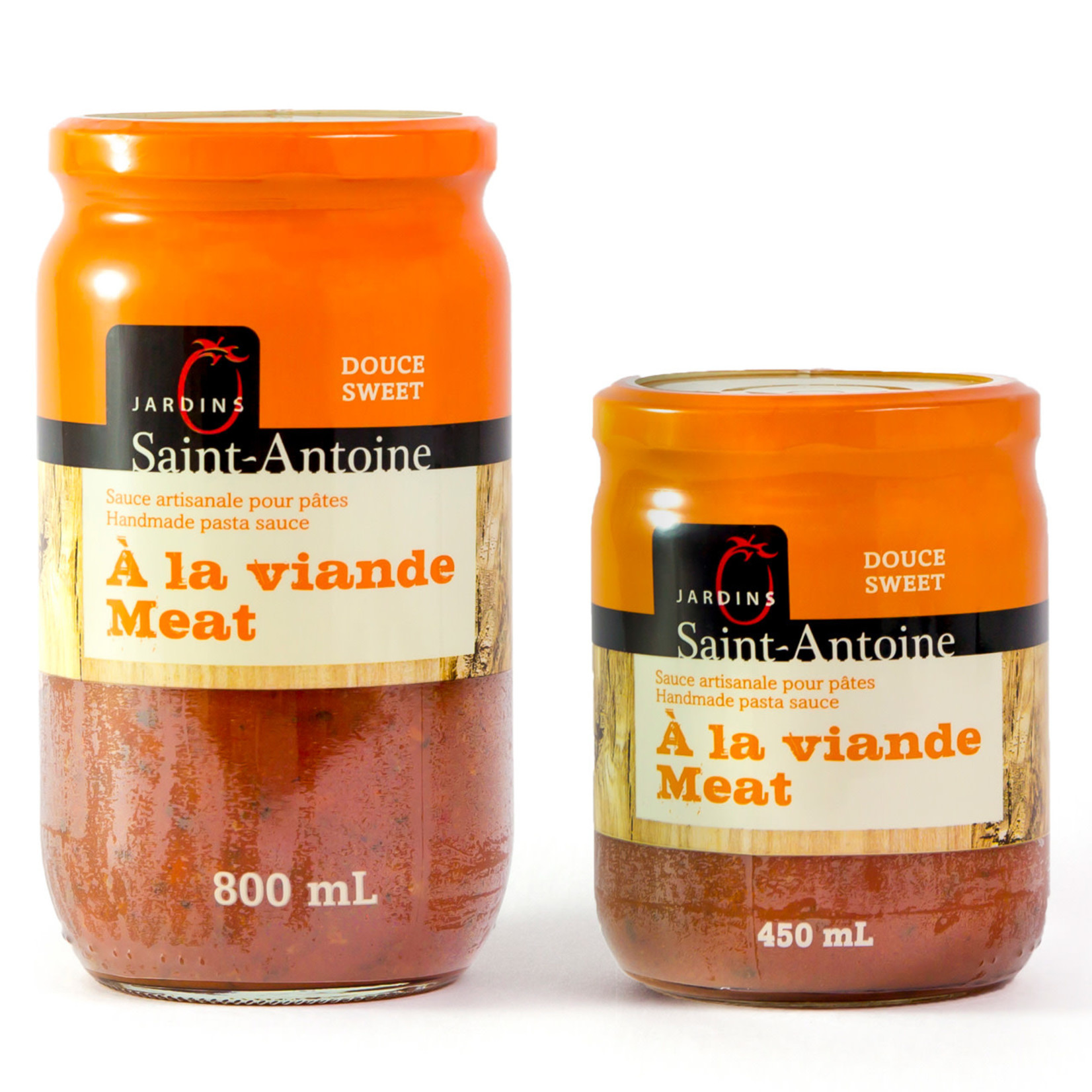 Jardin Saint-Antoine Sauce Artisanale à la viande DOUCE (800ml)