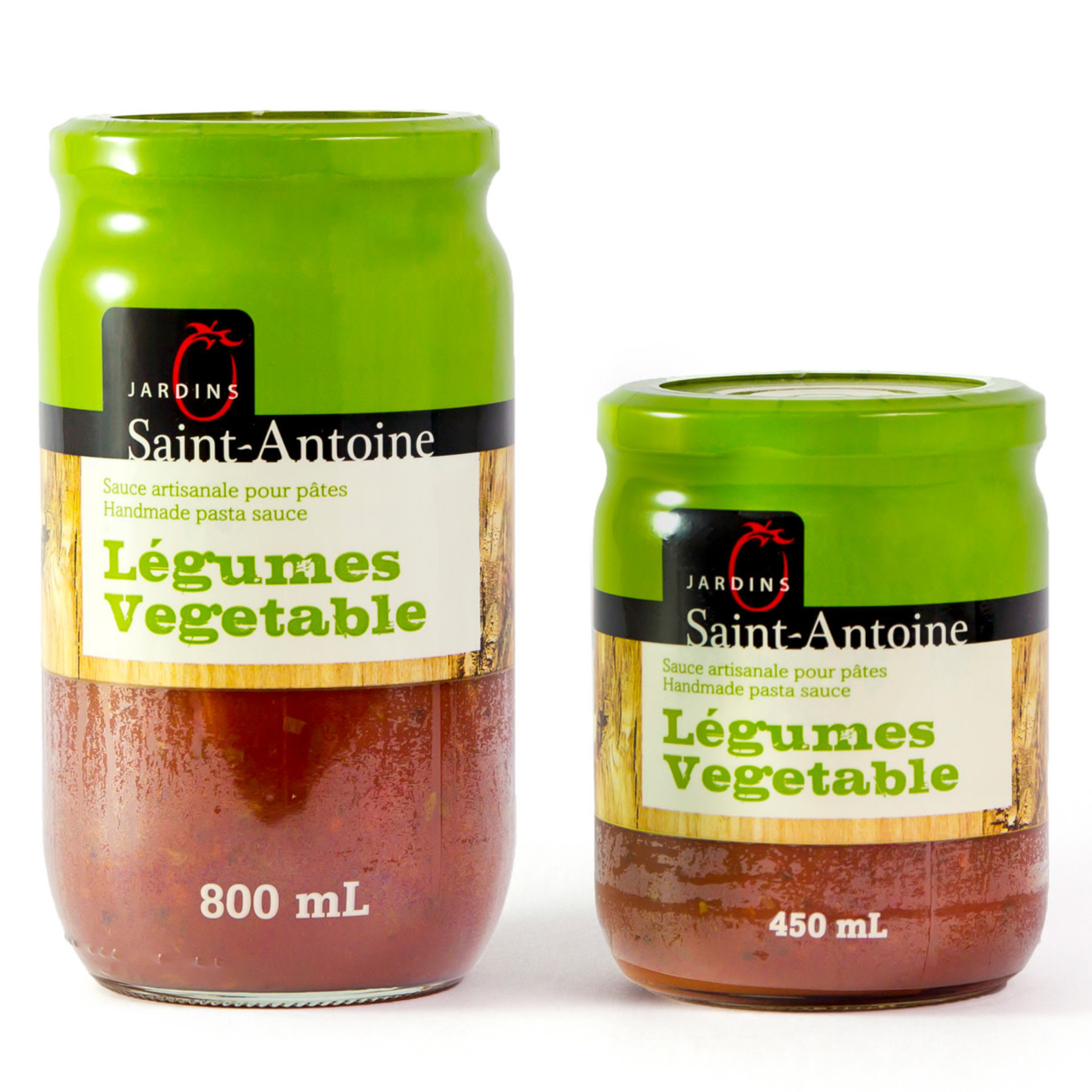 Jardin Saint-Antoine Sauce Artisanale aux LÉGUMES (450ml)
