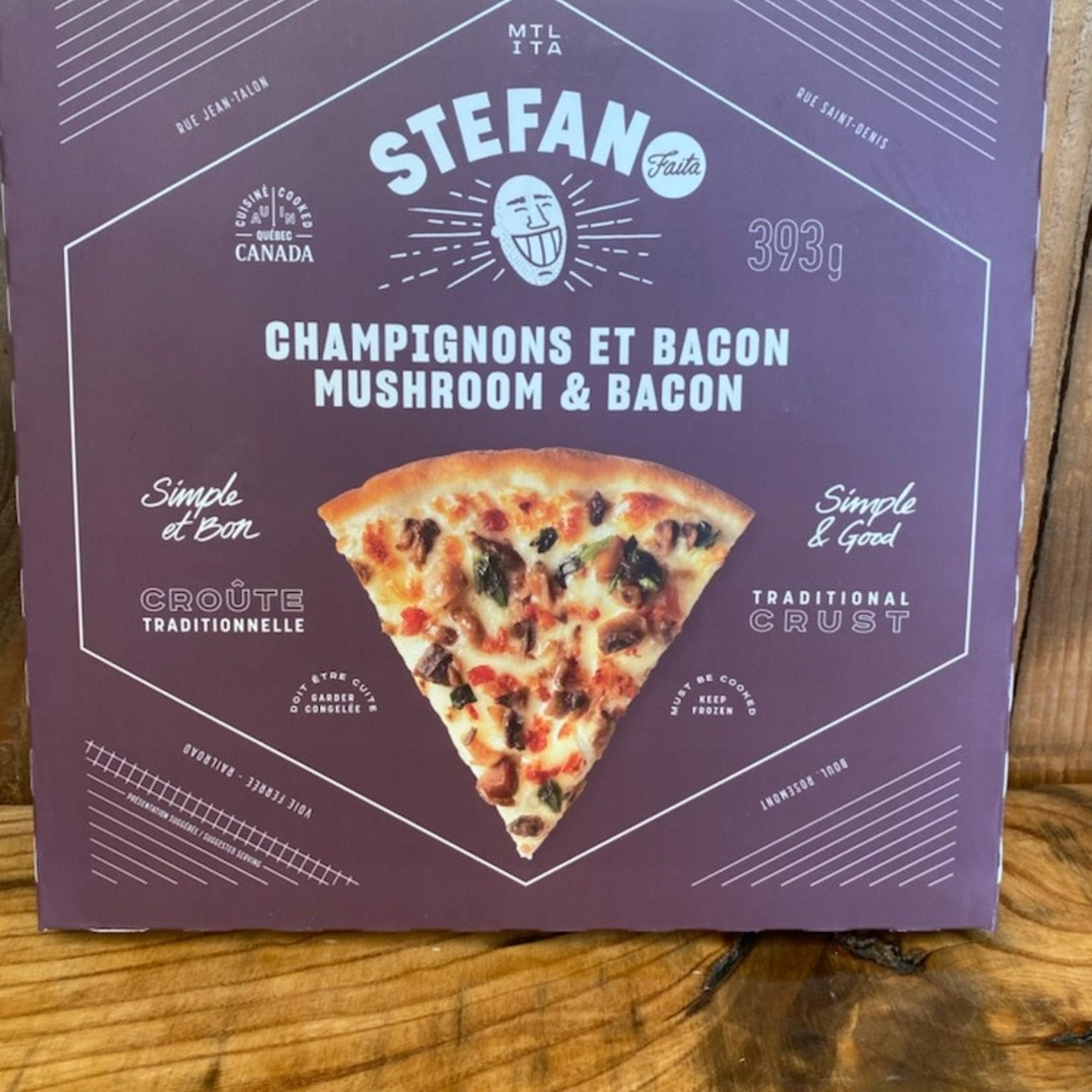 Stefano - Pizza Champignons & Bacon