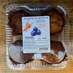 MariePain Muffins - Citrouille et chocolat