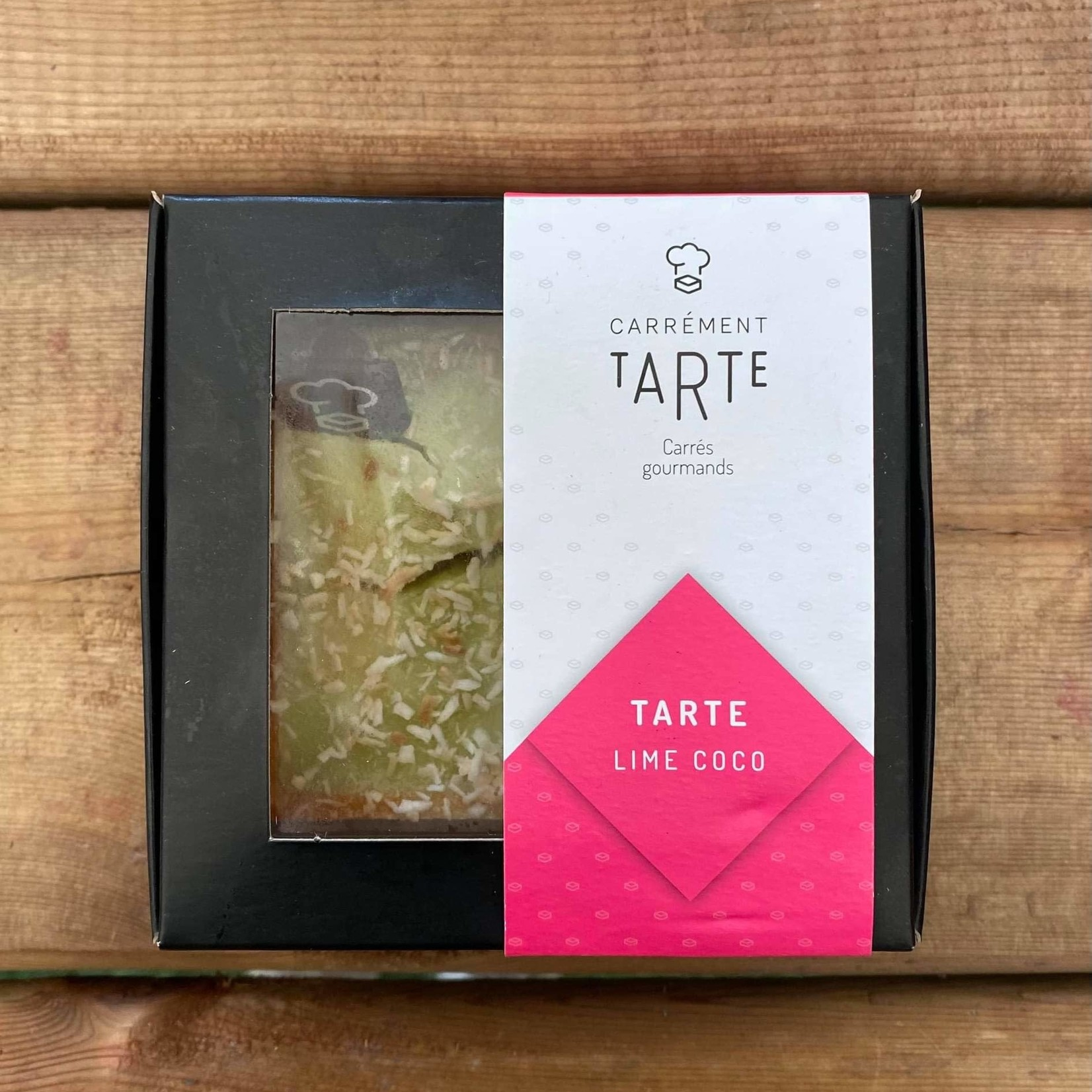 Tarte Lime coco - 100g (CT)