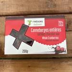 Canneberges aux Chocolats noirs (70%)