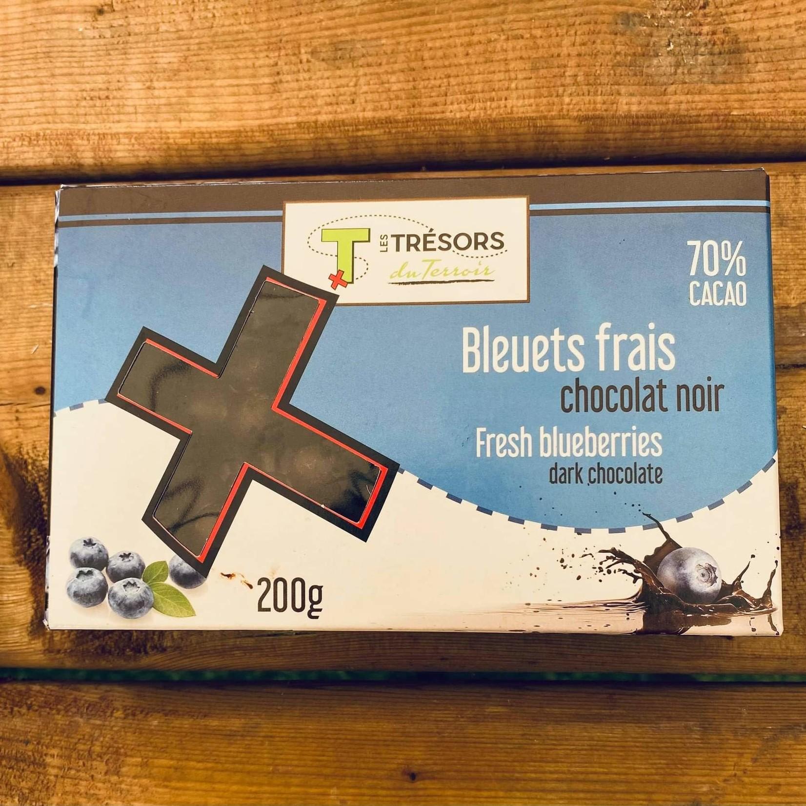 Bleuets aux Chocolats noirs (70%)