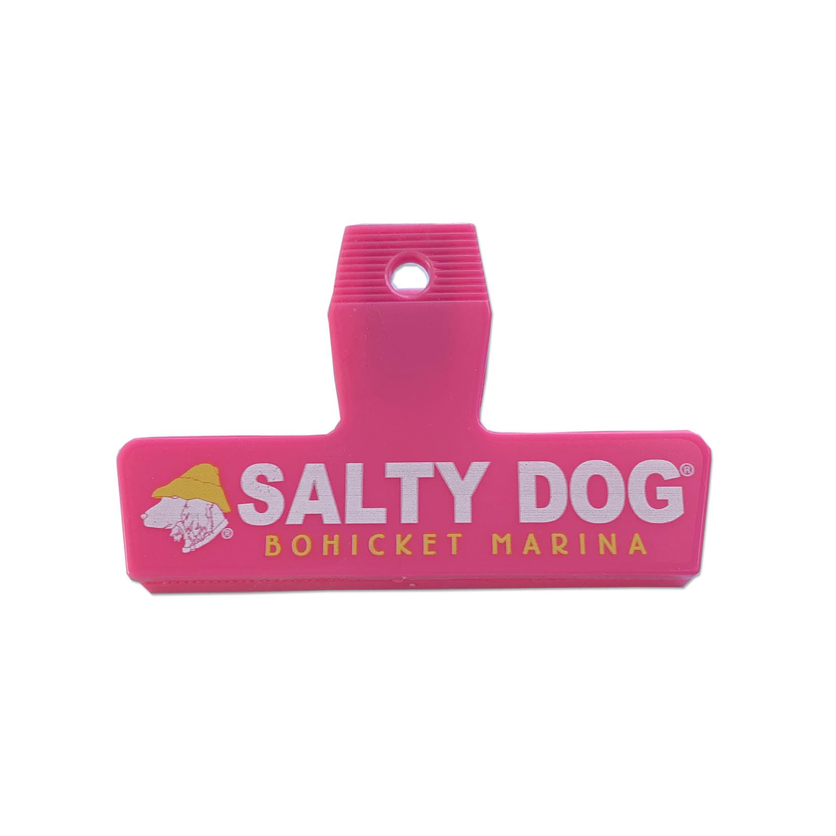 Bohicket Bag Clip, Hot Pink