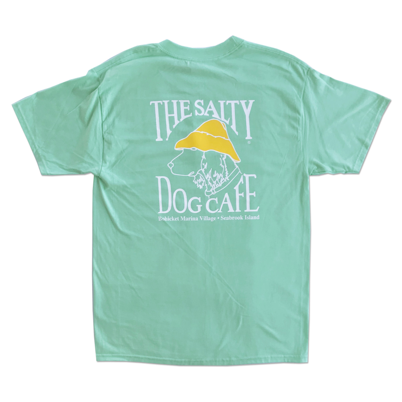 Bohicket Hanes Beefy S/S Clean Mint