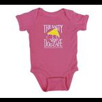 Bohicket Infant Romper Raspberry