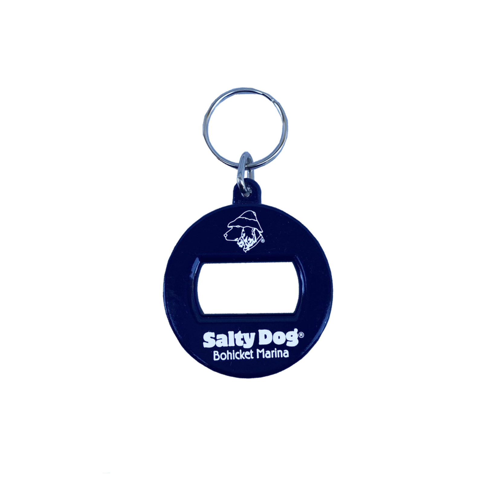 Bohicket Key Chain - 3 in 1, Navy