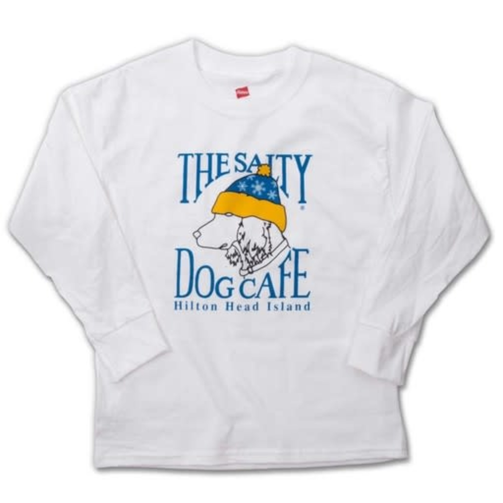 Youth Snow Dog L/S White