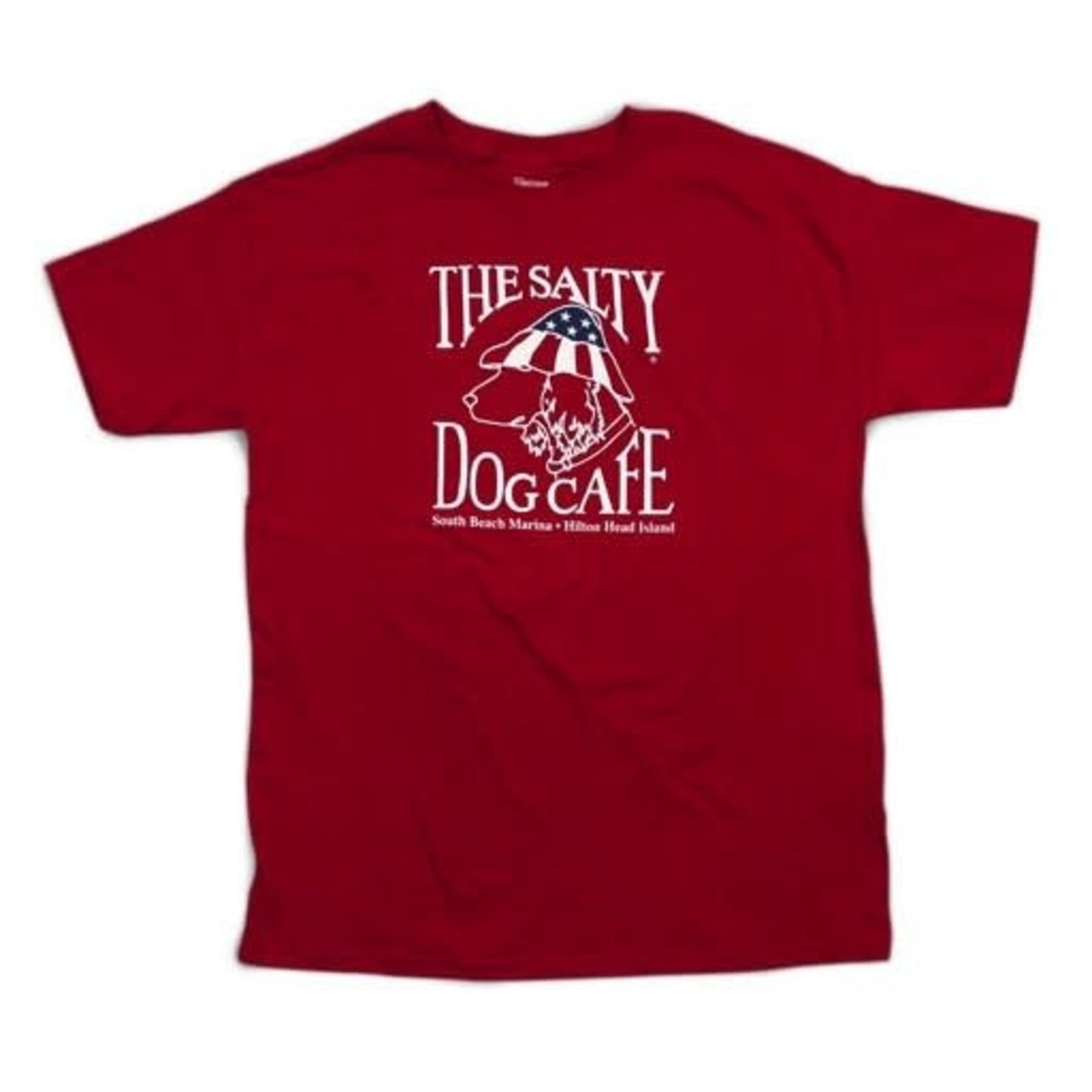 Youth Patriot Dog S/S Deep Red