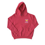 Youth Hooded Vintage Hot Pink