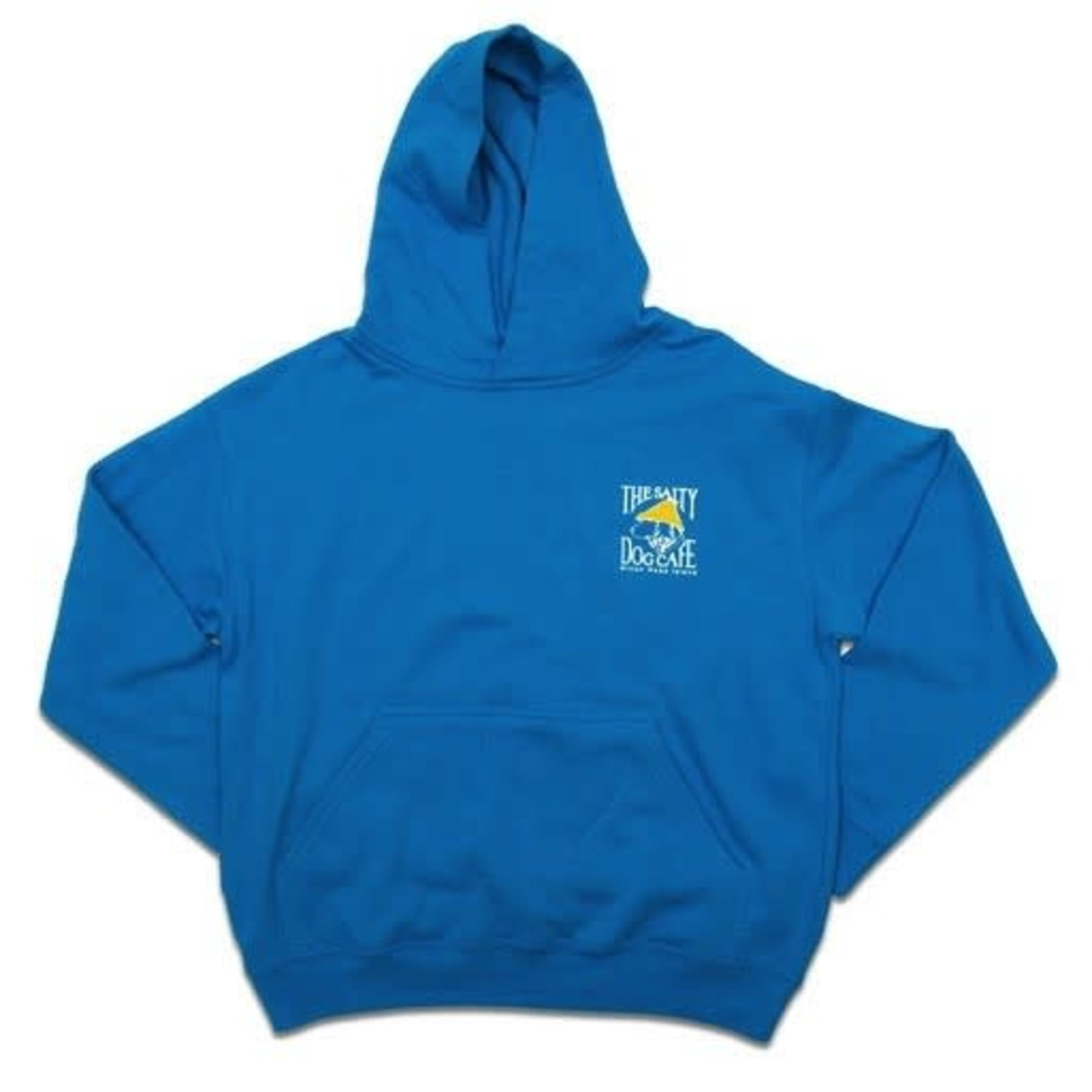 Youth Hooded Turquoise