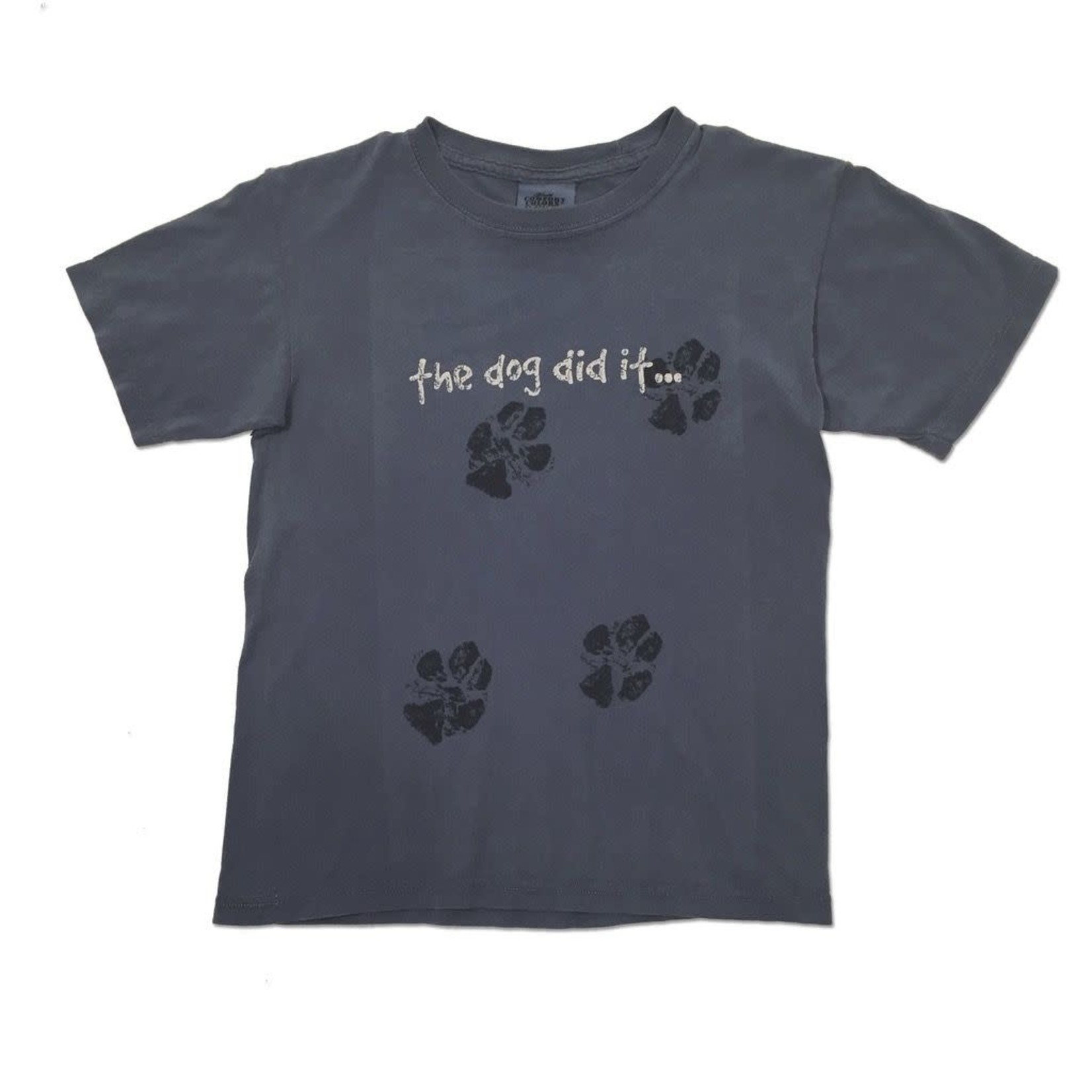 Youth Dog Did It S/S Blue Jean
