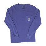 Comfort Soft L/S-Pocket Flo Blue