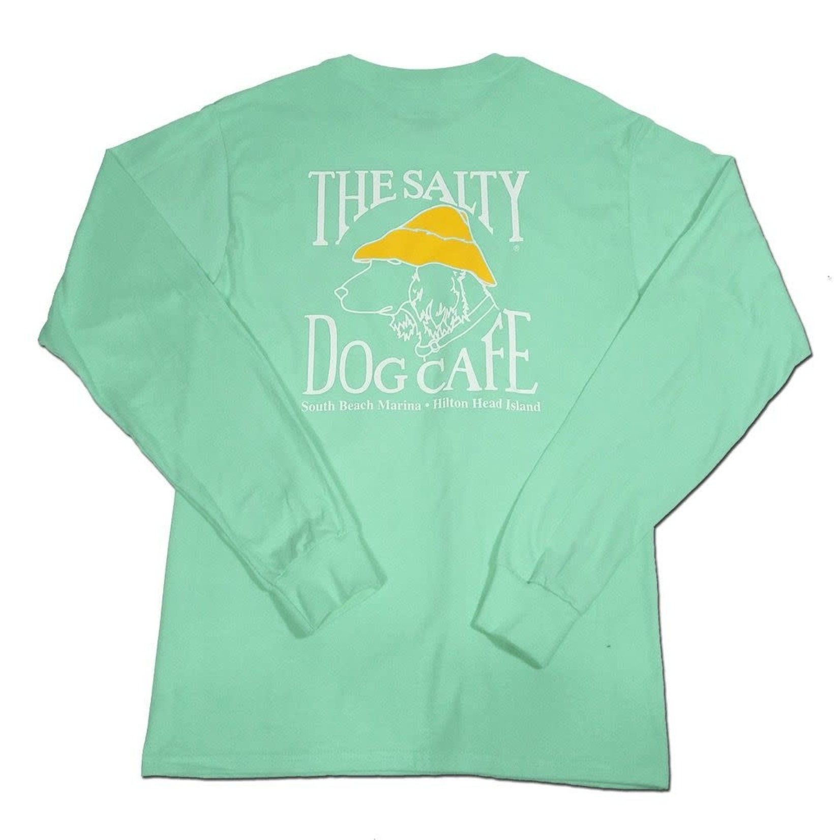 Hanes Beefy L/S Clean Mint