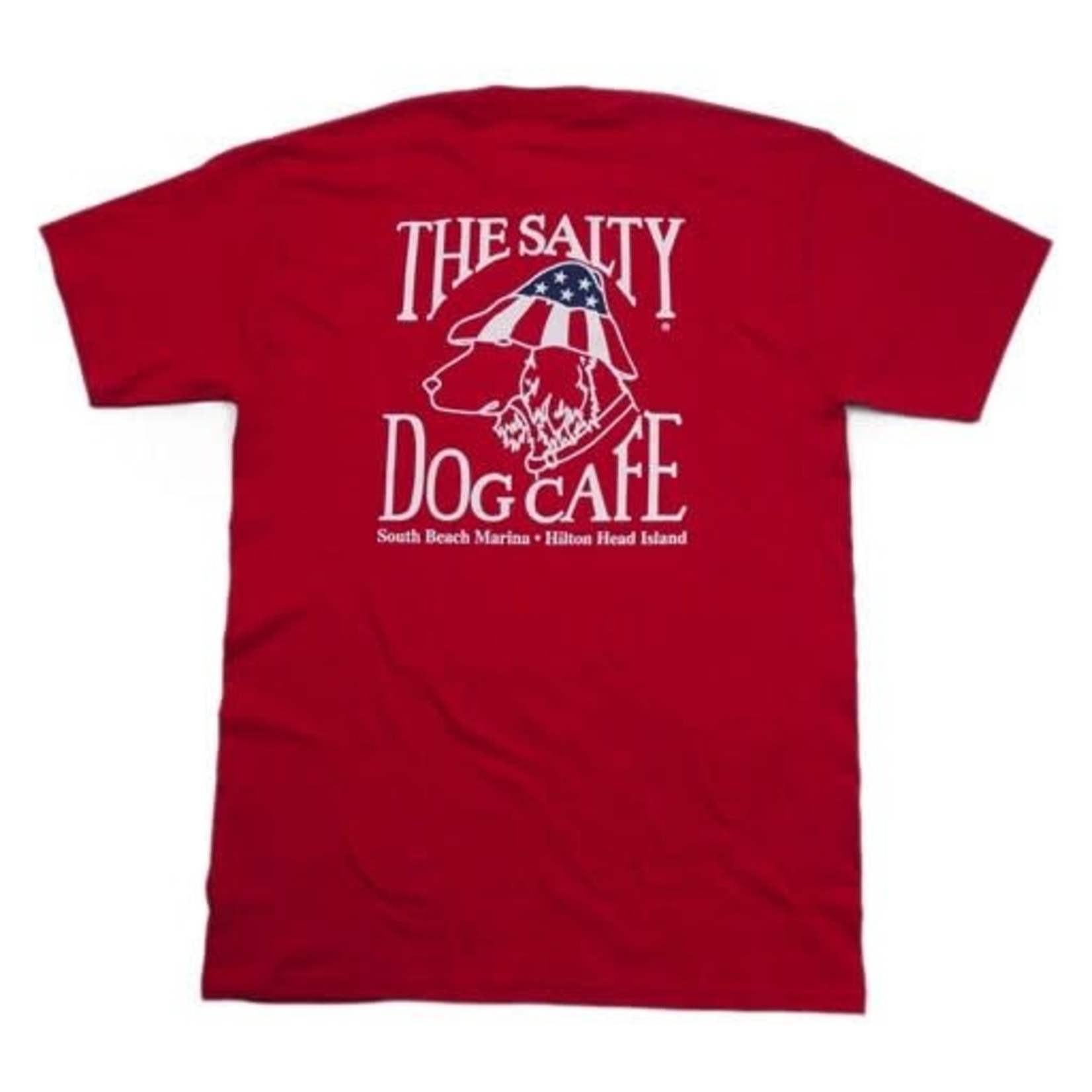Patriot Dog S/S Deep Red