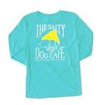 Triblend L/S Tahiti Blue