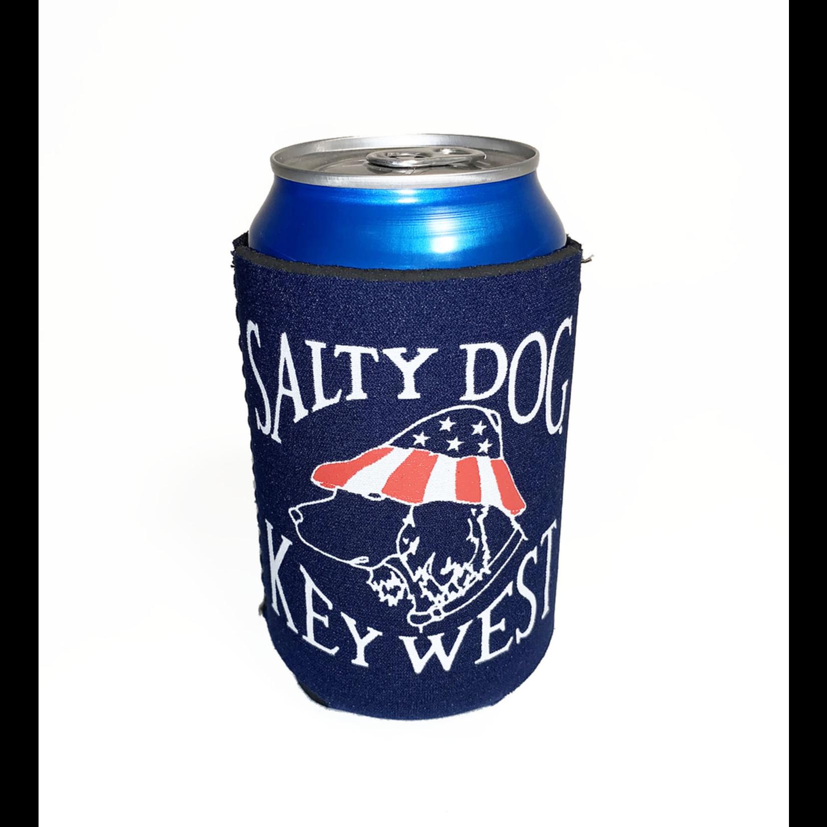 Can Holder - Key West Patriot Dog, Navy