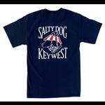 Key West Patriot Dog S/S Navy