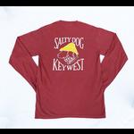 KW Comfort Colors L/S Crimson