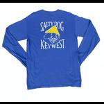 KW Comfort Colors L/S Flo Blue