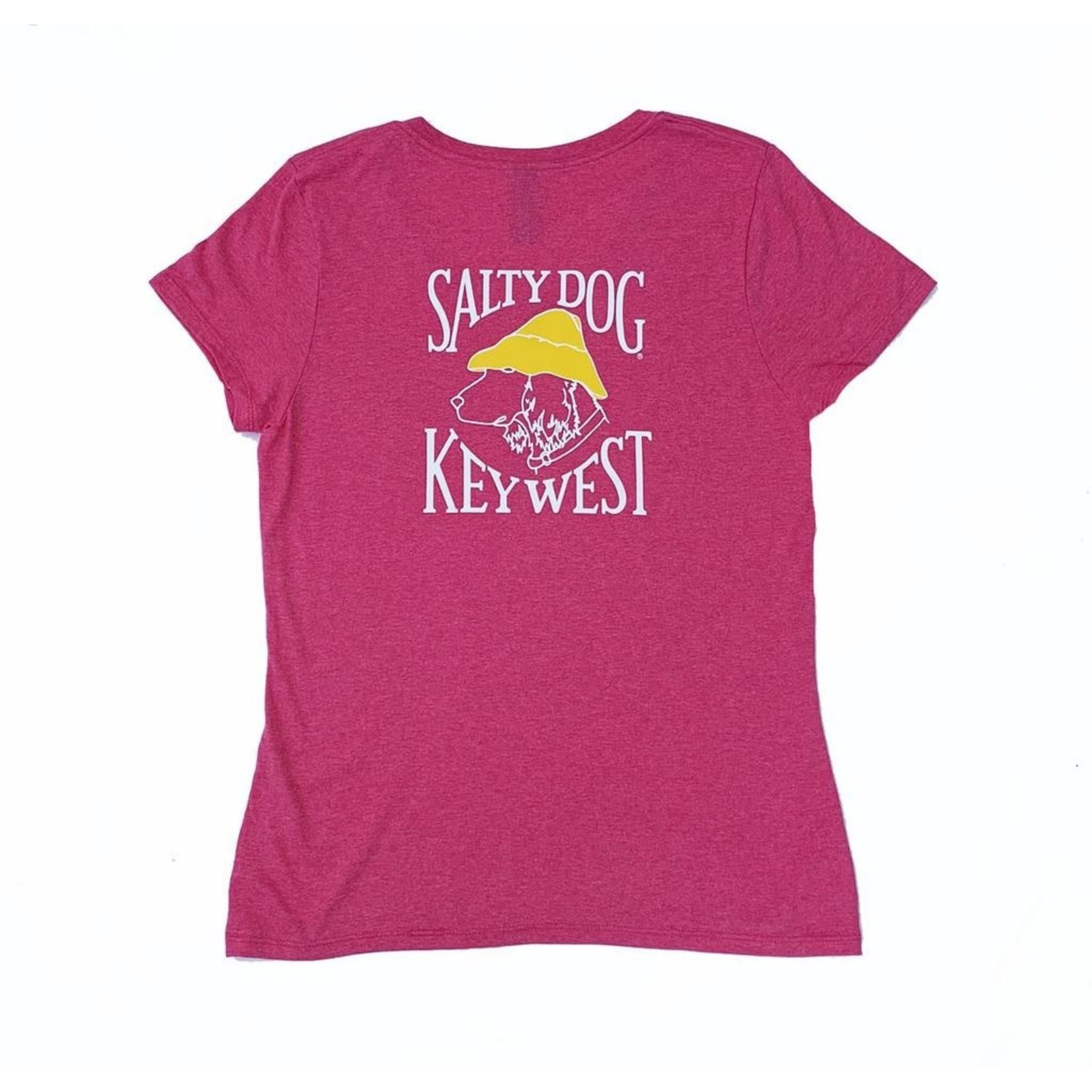 KW Women's Triblend V-Neck S/S Jazzberry