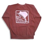BW Stonewash Sweatshirt Crimson
