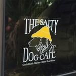 Clear Salty Dog Decal Sticker