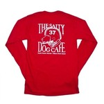 Football Dog L/S Red