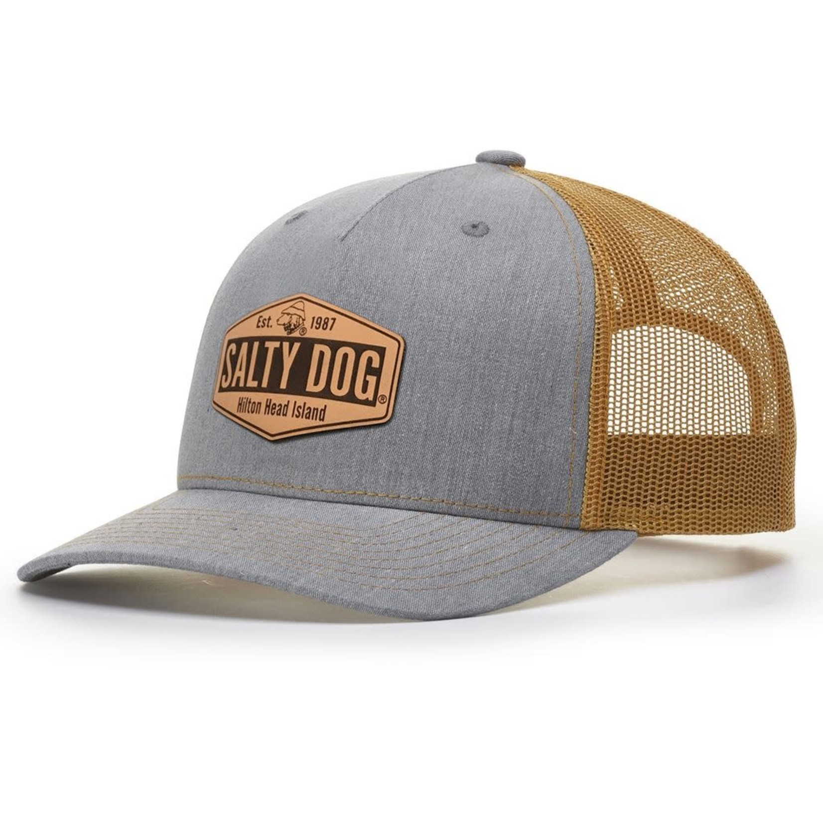 Hat - FP Route 278 Trucker, Heather Grey/Amber Gold
