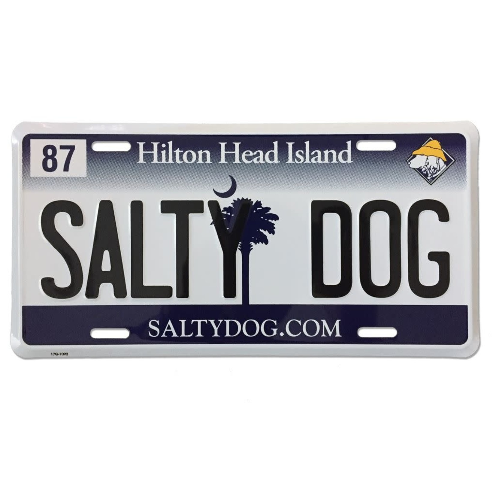 License Plate, WH/NY, SC