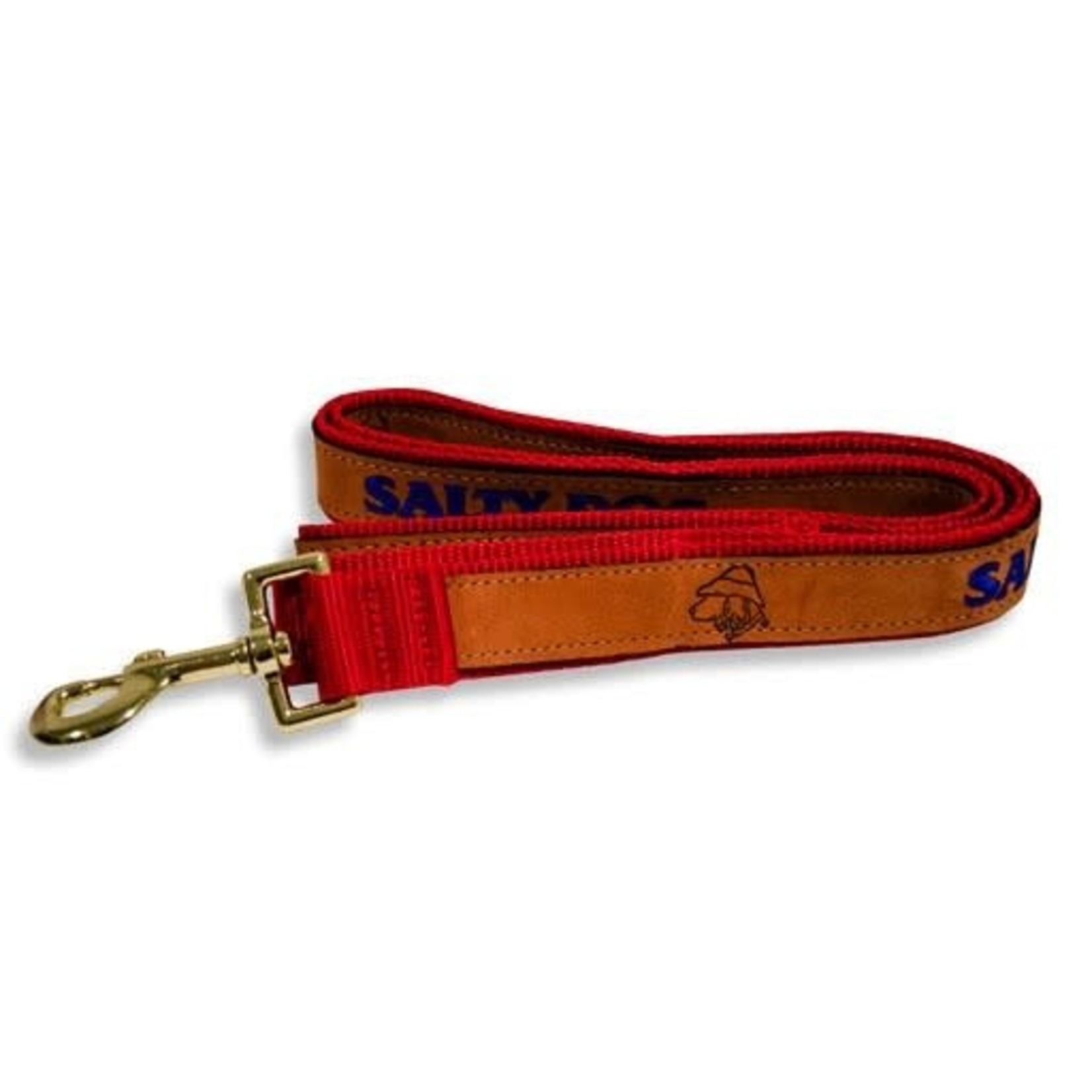 Leash - Leather Red
