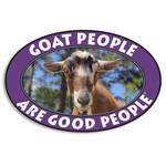 Goat People Euro Sticker