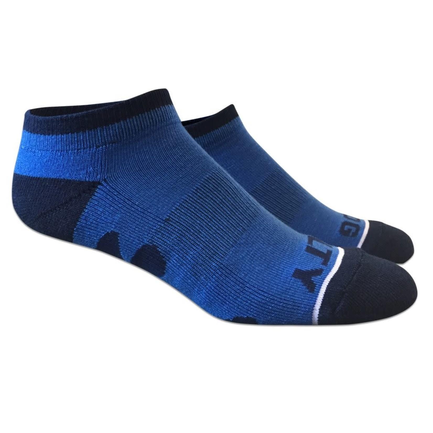 Socks-No Show Royal/Navy