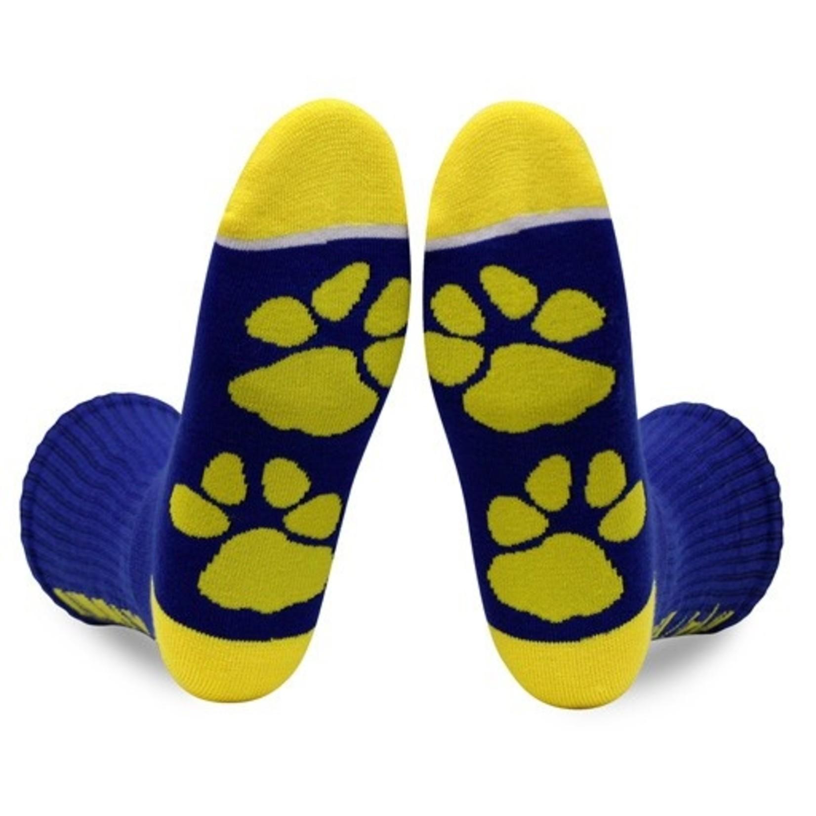 Socks-Salty Dog/Zip, RO/YE
