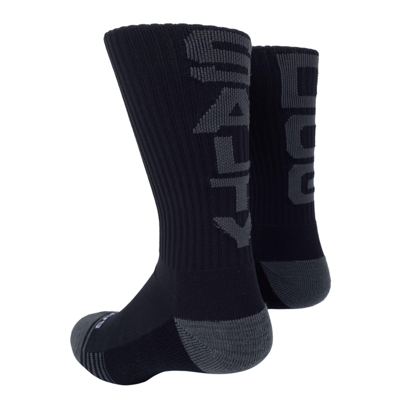 Socks-Salty Dog, BK/GY, OSFA