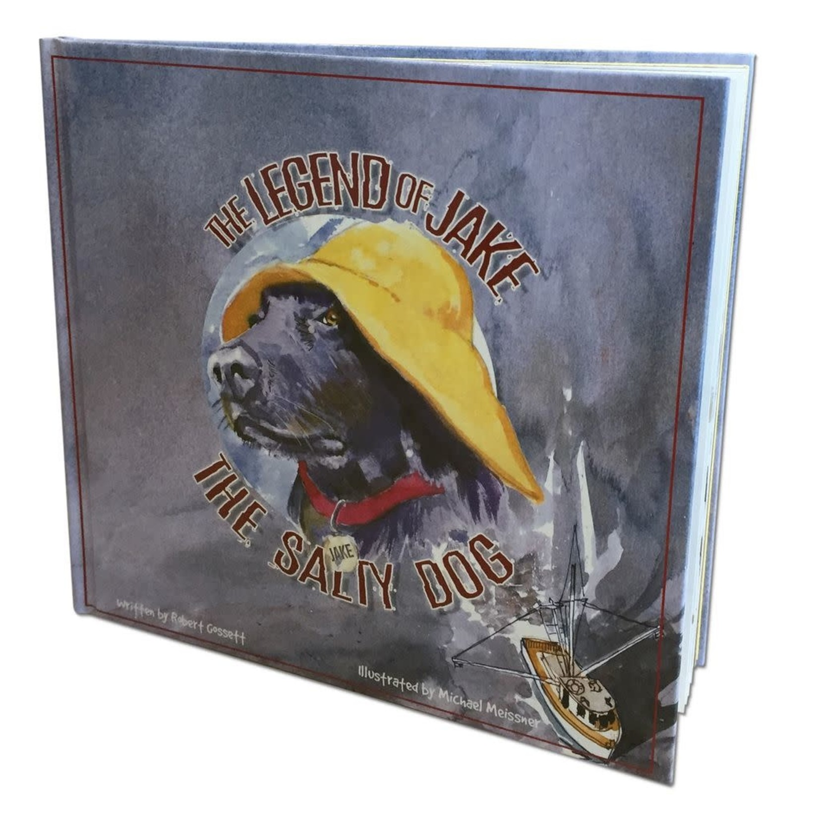 Story Book - Legend of Jake the Salty Dog