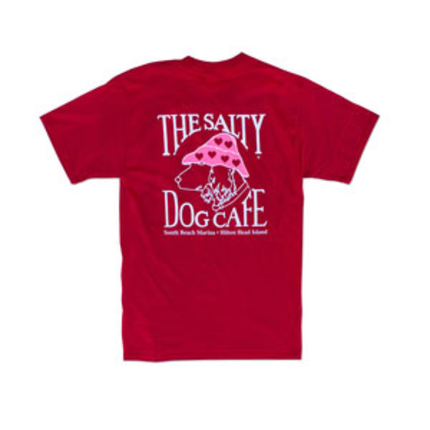 Luv Dog S/S Deep Red