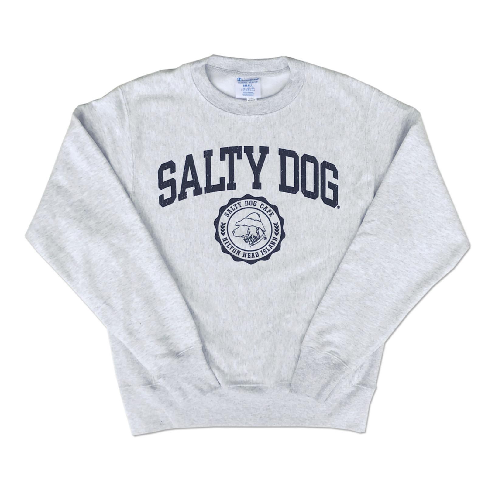 Sweatshirt-Youth Rev Weave Silver Grey