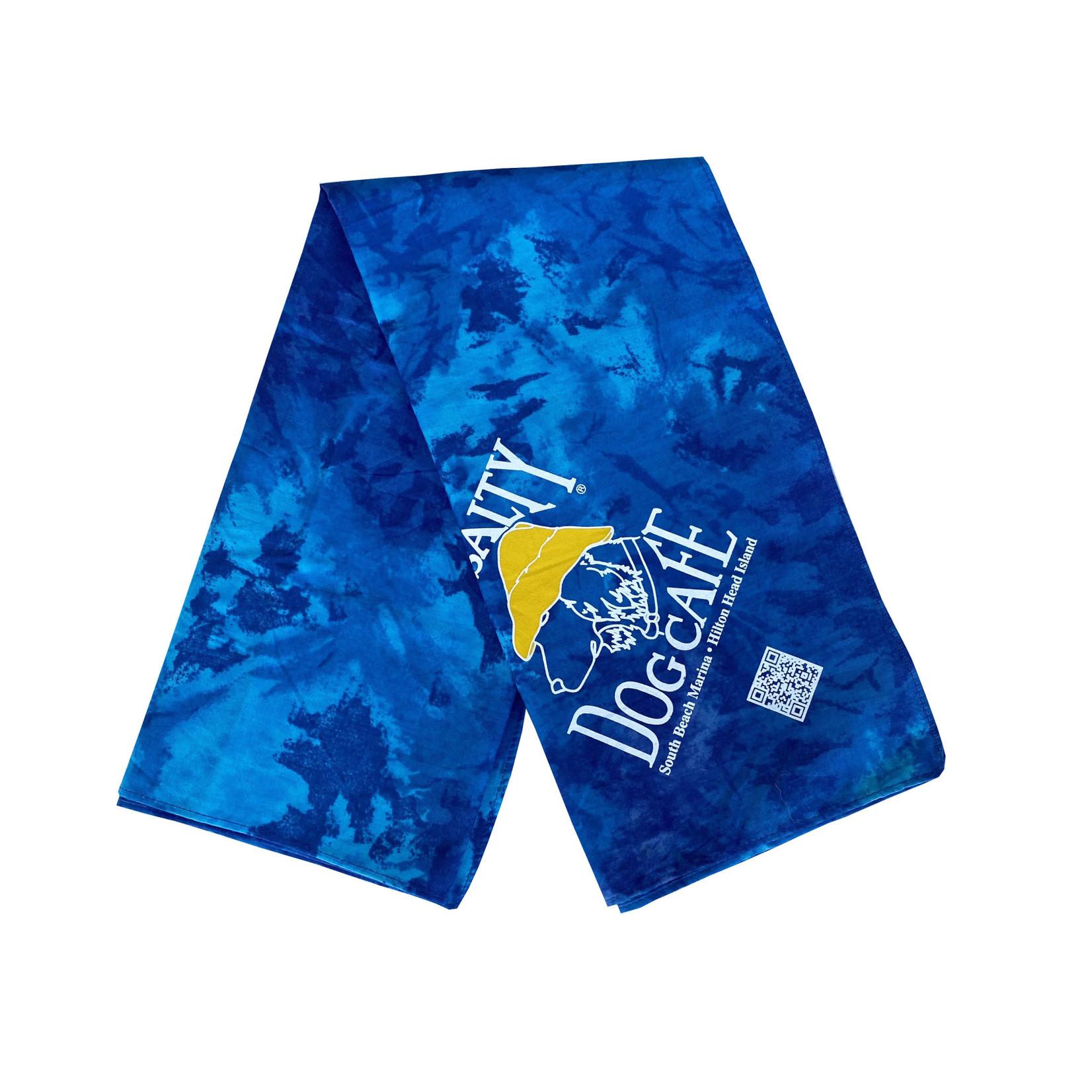 Bandana Blue Tie-Dye