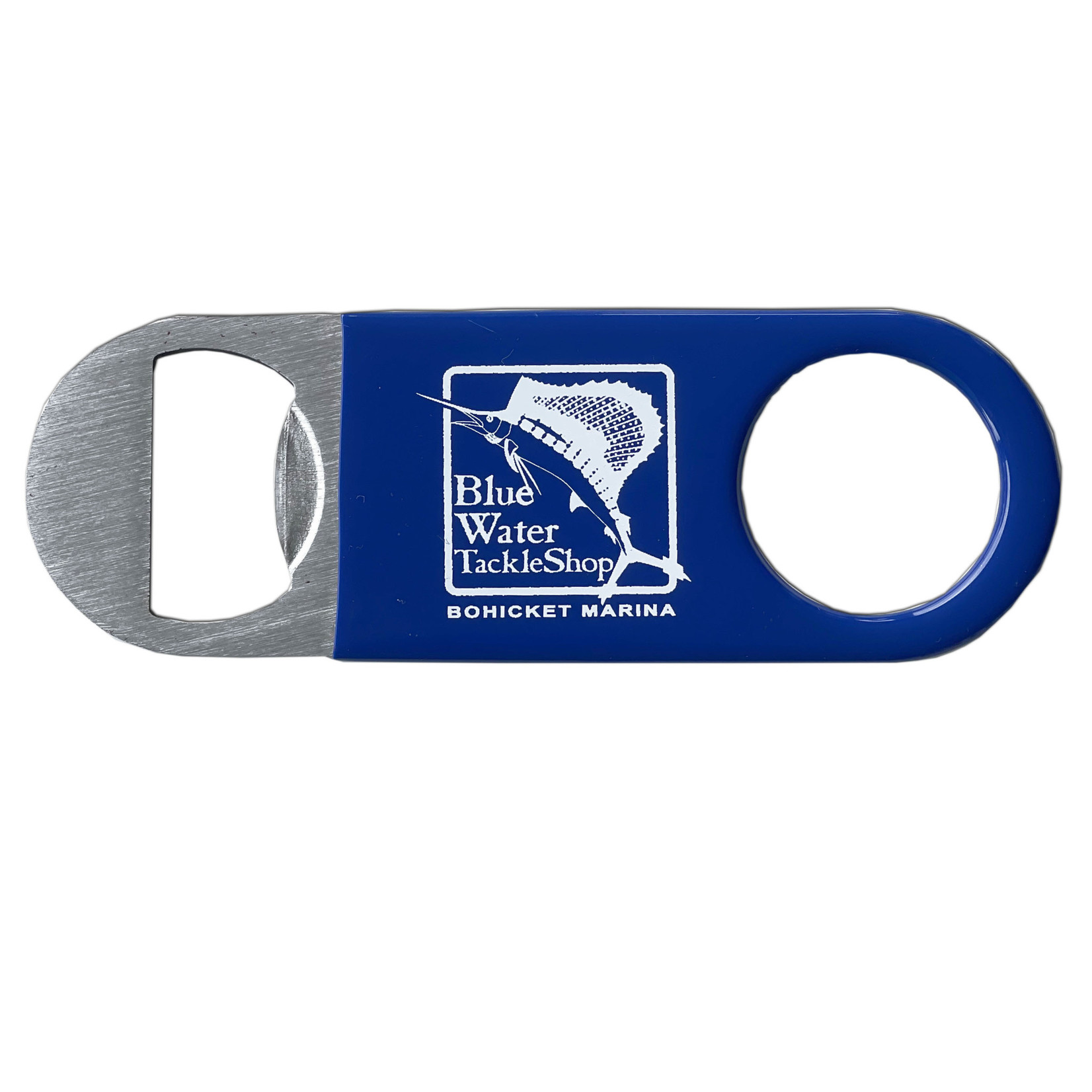 Blue Water Bohicket Paddle Bottle Opener, BL, OS