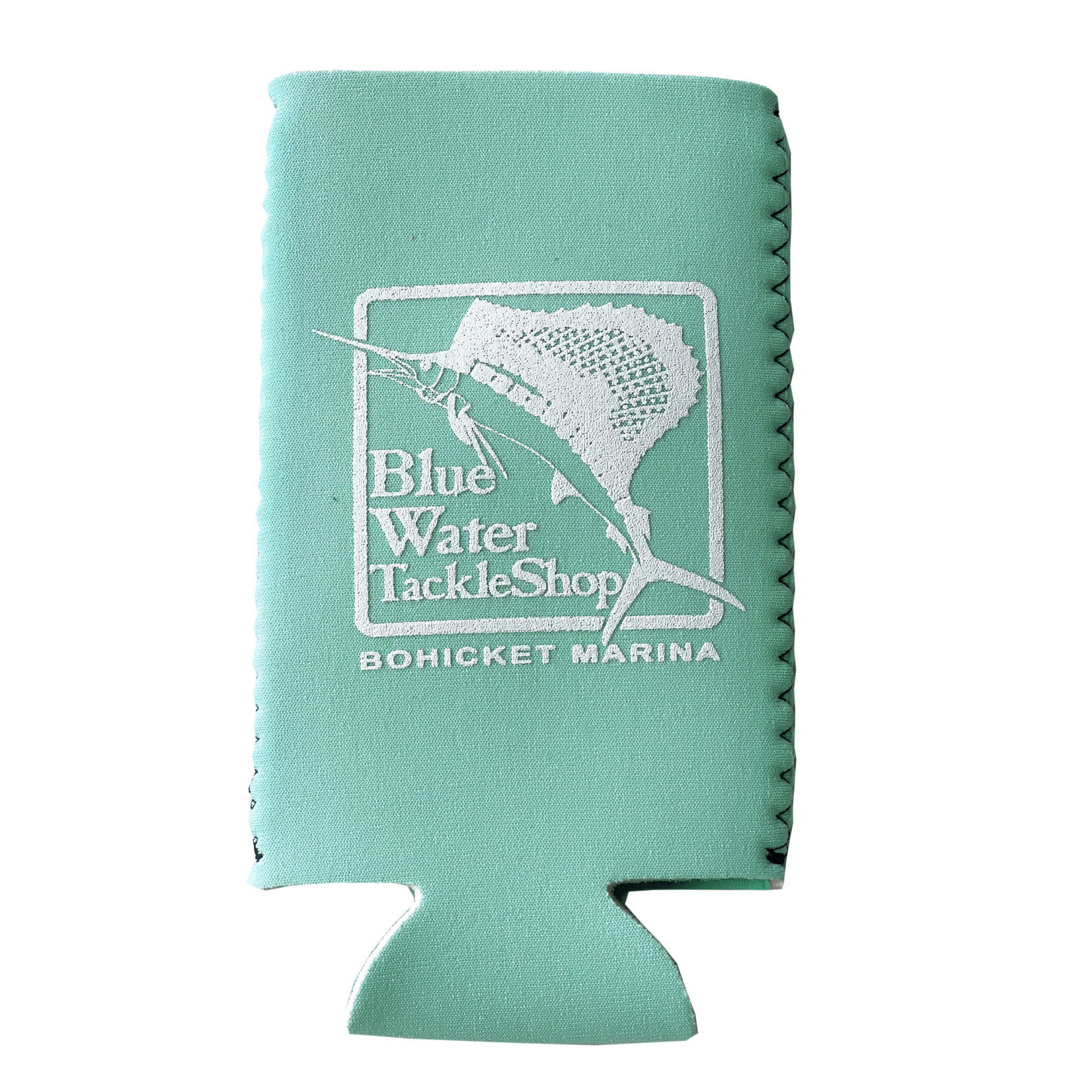 Blue Water Bohicket Slim Can Holder, Tropical