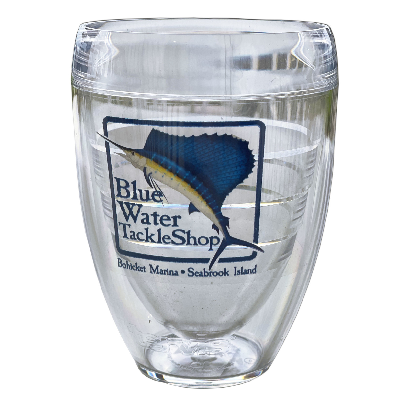 Blue Water Bohicket Tervis - Stemless Wine, CL, 9oz