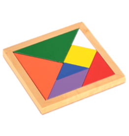 PUZZ Color Tangrams Puzzle