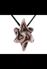 JEWE Bathsheba - Flame Alpha Pendant