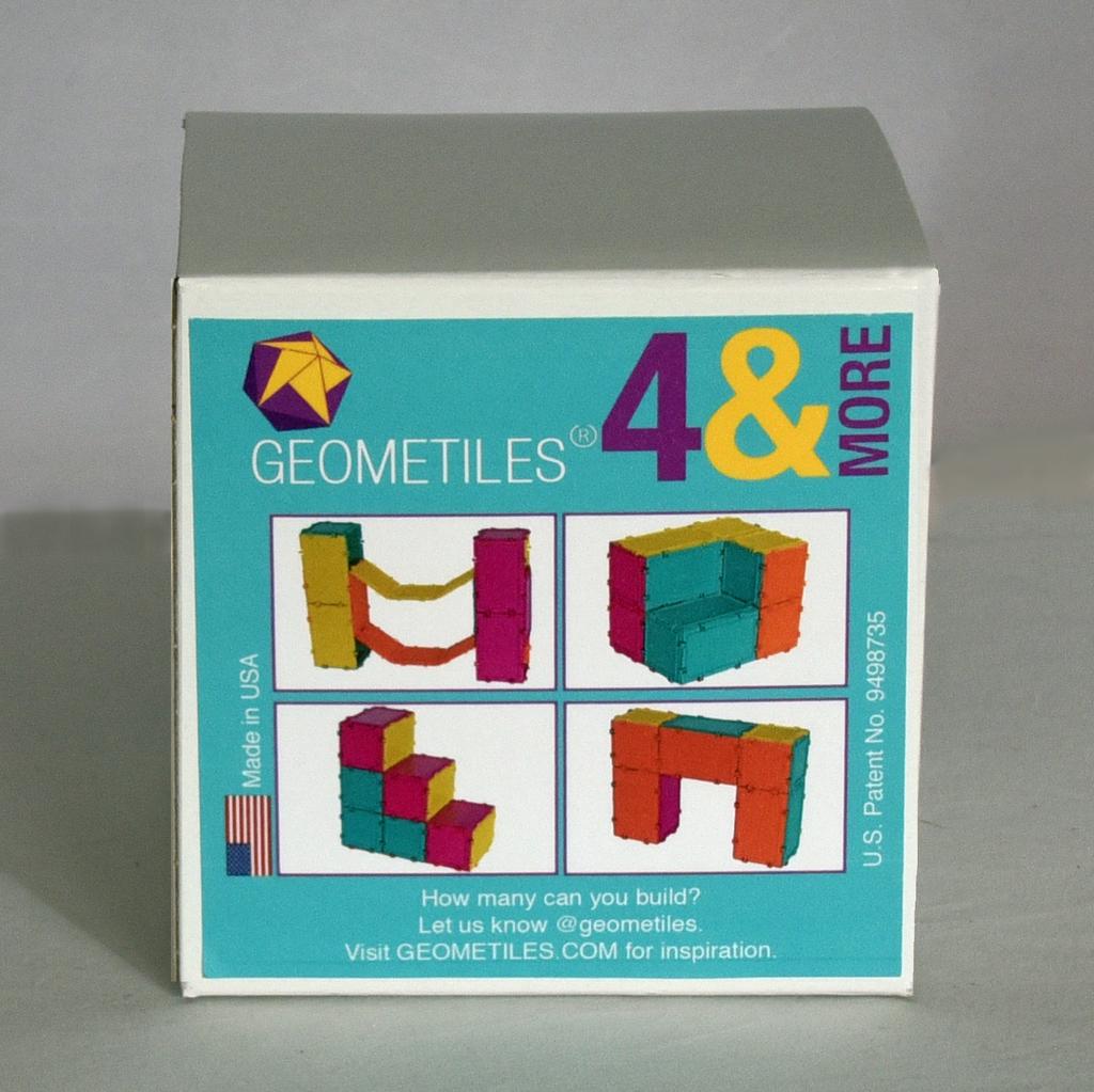 GATO Geometiles - 4&More Rectangles/Squares